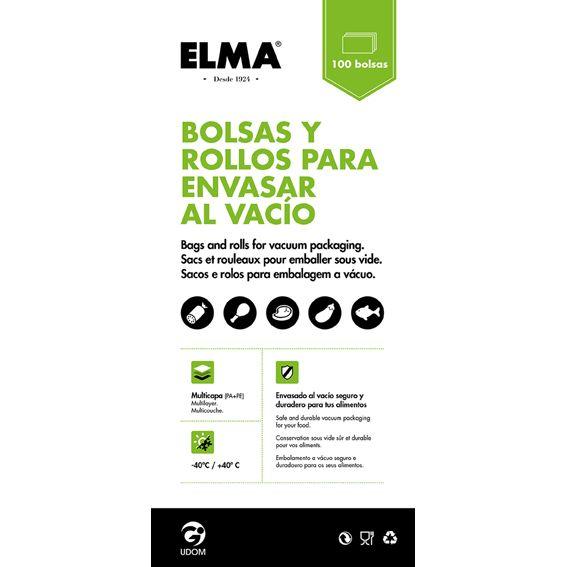 BOLSA GOFRADA 12X60CM (100U) 15.18.2