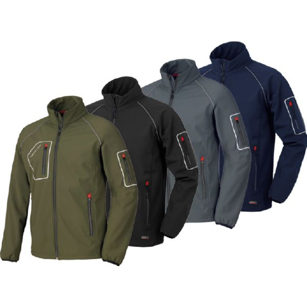 CHAQUETA JUST GRIS T-S