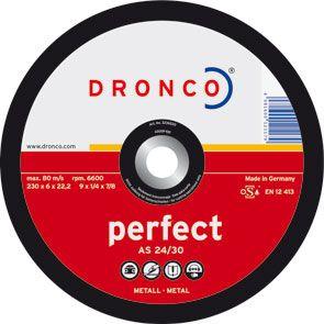 DISCO DRONCO A24/30P 125X6,0X22,2 DESBAS