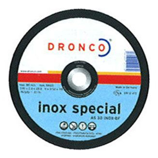 DISCO DRONCO AS30INOX 230X2,5X22,2