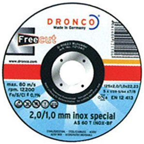 DISCO DRONCO AS60T INOX FC 115X2,0X22,2