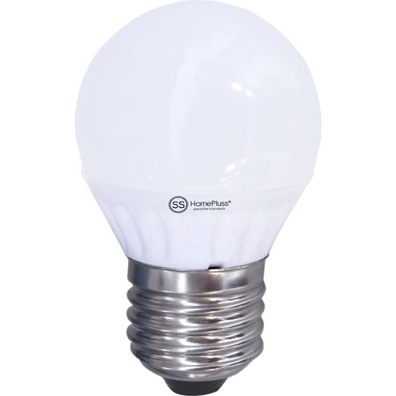 LAMPARA ESFERICA LED E27 7,5W 3000K